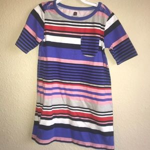 Striped Tea Dress